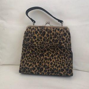 Vintage leopard bag